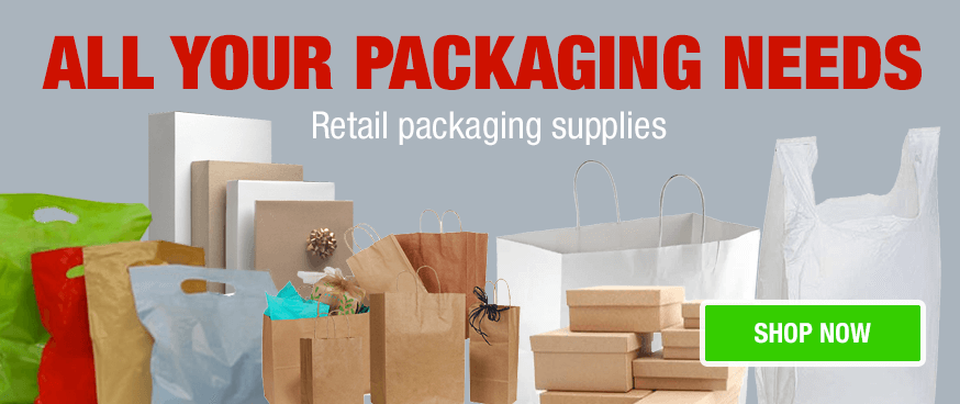 retail packaging supplies for sale