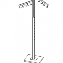 Two-way Rack hooks