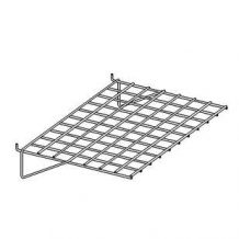 Slatwall/Slatgrid Flat Shelf