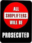 Policy Card - shoplifters