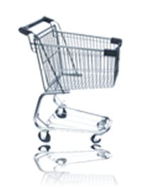 Shopping Cart 3000 CU IN
