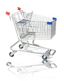 Shopping Cart 6000 Cubic inches
