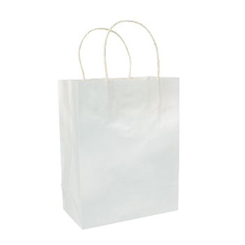 "Paper Shopping Bag 5 x 3 x 8"" 1"
