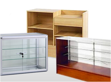 Display Systems, Cases & Counters