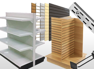 Shelving, Wall Units & Store Fixtures